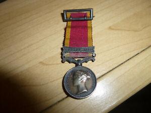 Genuine Second China War Medal inc Canton 1857 Clasp Miniature