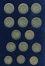 SWITZERLAND 1908-B 2 RAPPEN, 1881, 1895, 1898, 1908 10 RAPPEN, 1883-B 20 RAPPEN