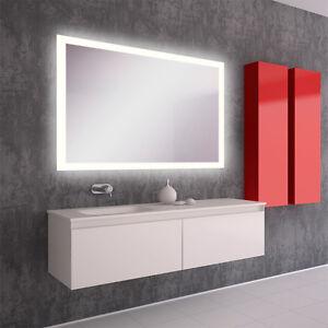 LED BAD SPIEGEL Badezimmerspiegel mit Beleuchtung Badspiegel Wandspiegel Sofia