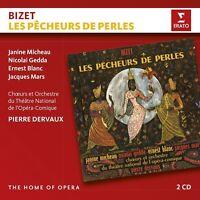 LES PECHEURS DE PERLES-DIE PERLENSFISCHER HOME OF OPERA 2 CD NEU BIZET,GEORGES
