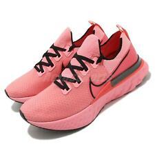 Nike React Infinity Run FK Flyknit Bright Melon Black Men Running CD4371-800