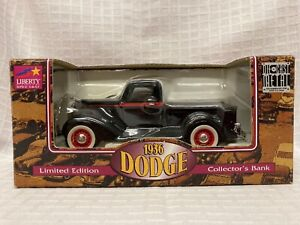 1936 Dodge Pickup Collectors Bank Liberty Classic Limited Edition Black Truck