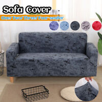 1 2 3 4 Seater Stretch Sofa Cover Slipcover Elastic Couch Arm Chair Protector