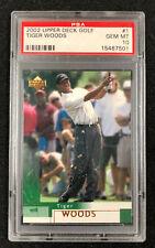 2002 UD Upper Deck Tiger Woods #1 PSA 10 Gem Mint