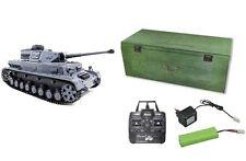 RC Panzer IV F2SD Rauch, Sound, Schuss inkl Holzbox 2,4 GHz 23066