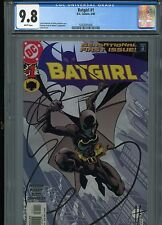 Batgirl #1  (DC 4/00)  FP   CGC 9.8  White Pages