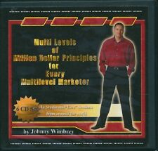 D1 Multi Levels of Million Dollar Principles for Marketer - Johnny Wimbrey 6 CDs