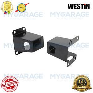 Westin For 14-18 Silverado 1500/2500HD/3500HD Black Front Relocators 40-0005S