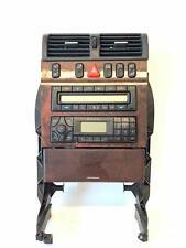 2001 MERCEDES BENZ E320 W210 CASSETTE RADIO RECEIVER W/ AC HEATER CONTROLS