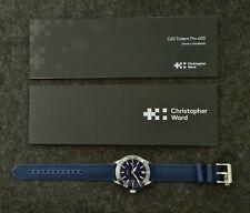 Christopher Ward C60 Trident Pro 600 40mm - Brand New - Blue