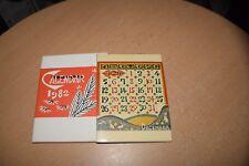 Keisuke Serizawa Calendar 1982 Original and Complete Small Printed Ver. Japan