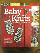 ~BABY KNITS FROM AROUND THE WORLD - 20 HEIRLOOM PROJECTS - VGC~