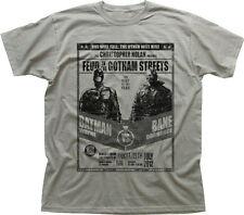 Batman vs bane dark knight rises Joker gotham city zinc T-shirt en coton 9914