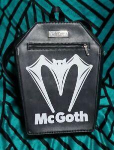 Killstar Mcgoth Coffin Backpack Goth