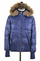 LEE Womens Padded Jacket Size 16 Large Blue Polyester Loose Fit  DP09