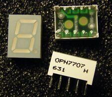 20x OPN7707 7-Segment Display 10mm, rot, gemeinsame Anode