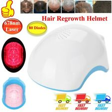 80 Diodes Laser Cap Hair Loss Regrowth Growth Therapy Treatment Helmet 678nm