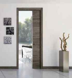 Pocket door system for single door for  100mm and 125mm walls with jamb kit