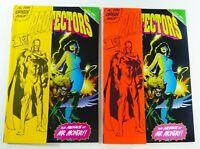 Malibu Comics PROTECTORS (1992) #1 YELLOW + RED/ORANGE VARIANT Set VF/NM (9.0)