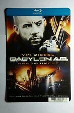 BABYLON AD VIN BLURAY COVER ART FACE MINI POSTER BACKER CARD (NOT A movie)