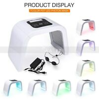 7 Colors LED Photon Facial Therapy Machine for Skin Rejuvenation Acne Remover
