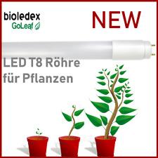 Bioledex GoLeaf Vollspektrum LED Röhre 120cm T8 G13 Grow Anzucht Pflanzenleuchte