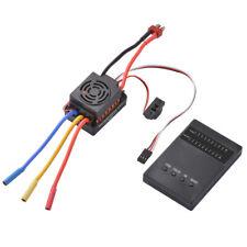 Wasserdicht 60A Brushlessregler ESC BEC Programmierkarte für 1:10 Auto RC1063