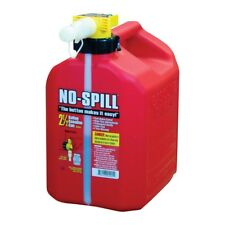 No-Spill 1405 2-1/2 Gallon Poly Gas Can CARB Compliant 2.5 Fuel Canister Tank