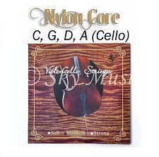 Top Quality Paititi Cello String Set 4/4 Cello German Made Nylon Core Ball End