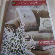 Oesd 2010 Christmas Collection 3 embroidery cd Nip