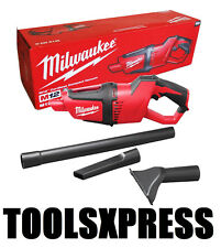 Milwaukee M12HV-0 12V Li-ion Cordless Compact Hand Held Vacuum - Tool Only