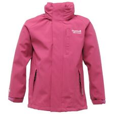 Regatta Aidanetch Boys Girls Waterproof Breathable Jacket Purple Age 15-16yrs