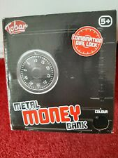 Metal Money Bank- New for age 5+