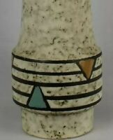 "Jasba Keramik West German 14"" pottery vase"