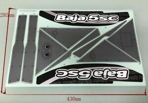 New 1pcs 1/5 HPI baja 5B 5SC 5T KM Car Sticker Decal RC Model #105796
