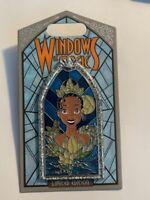 DLR Windows Of Magic Tiana Princess And The Frog Disney Pin LE M (B)