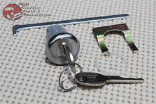 67 Camaro; GM/Chevy Trunk Lock Kit Set Later GM OEM Oval Round Keys