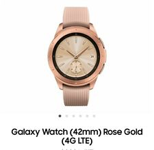 Samsung Galaxy Watch (42mm) SM-R815 GPS + LTE Smartwatch New in Box