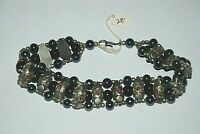 Gothic Steampunk Choker Necklace Mid Evil Renaissance Fair Jewelry Beads Metal