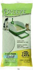 New listing Tidy Cats Breeze Cat Pads - 4 Pads per 1 Pack