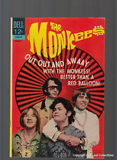 The Monkees 14 Dell TV Movie Comic Book 1968 High Grade VF-NM
