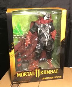 """McFarlane   Mortal Kombat  Commando Spawn  12"""" Deluxe Figure  In Stock Now  MIP!"""