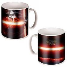 Star Wars Ceramic Coffee/tea Mug - X-wing/princess Leia and Official Kylo Ren Episode VII