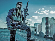 Daylight's End Johnny Strong CQB M-14 SOCOM MARUI Electric Toy with Scope