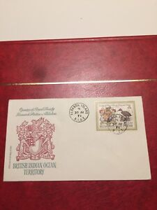 British Indian Ocean Territory 1971 FDC Opening Royal Society Research