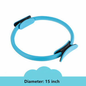 """15"""" Pilates Ring Yoga Circle Muscle Exercise Fitness Body Trainer Magic Trainer"""