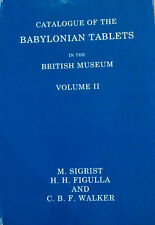British Museum Babylonian Sumerian Akkadian Tablets Cuneiform Ur Girsu Sippar