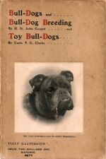 Bulldogs & Bulldog Breeding, inc. French, 1st edn, 1905