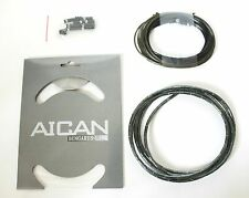 AICAN Superlight Bungarus SHIFT DERAILLEUR Cable Housing set kit I-Link, Pewter