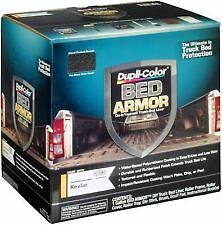 Duplicolor BAK2010 Bed Armor Kit, 1 Gallon DIY Truck Bed Liner With Kevlar